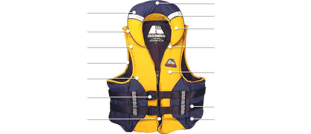 AFTER 100 YEARS, OUR LIFE JACKETS NOW LOOK LIKE THIS