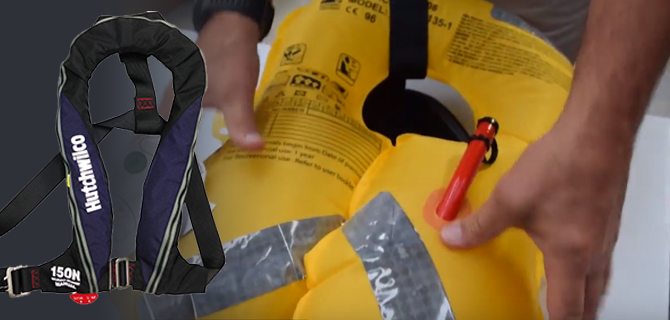 Servicing a Hutchwilco Super Comfort Life jacket